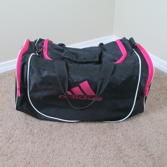 07d613fb82 adidas Handbags - Adidas Bag Gym Duffle (no shoulder strap) Pink